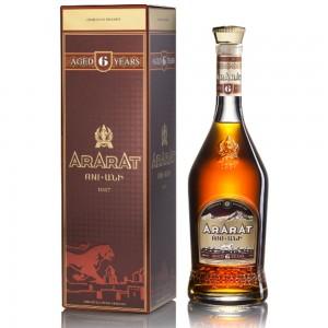 "Ararat Brandy ""Ani"" 6  Jaar 0.5L"