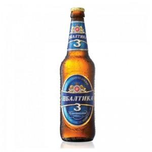 Baltika Nr.3 Classic bier 4.8% Vol