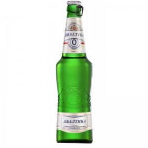 Baltika Nr.0 alcoholvrije bier 0.5L