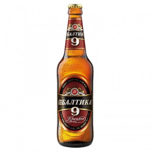 "Lager Bier ""Baltika Extra"" Nr.9, 8,0% vol."