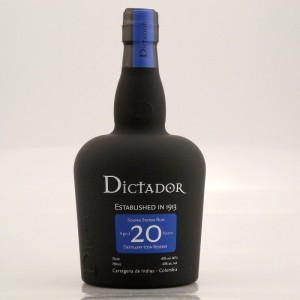 Dictador 20 years Rum 0,7L