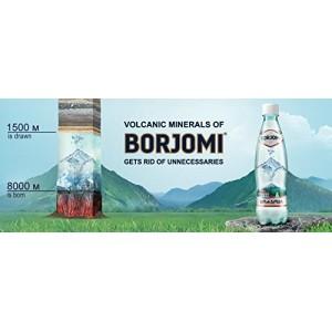Borjomi Natuulijk Mineraalwater 0,5 Liter glazen fles