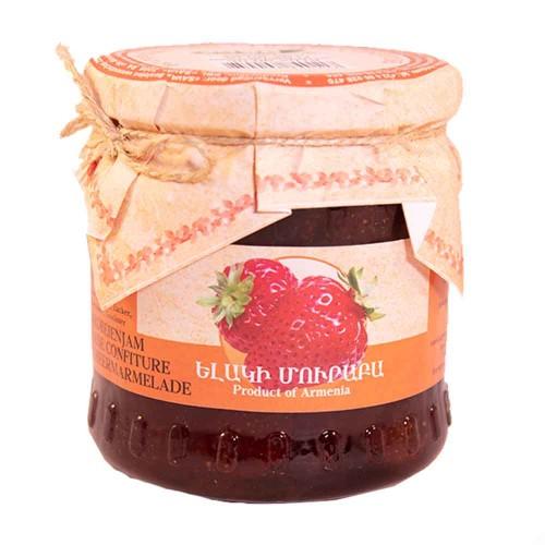 Aardbeien confituur uit Armenië.
