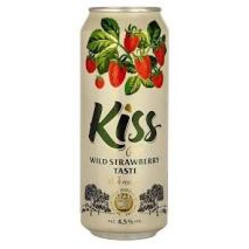 Kiss Cider  met wilde aardbei sap.