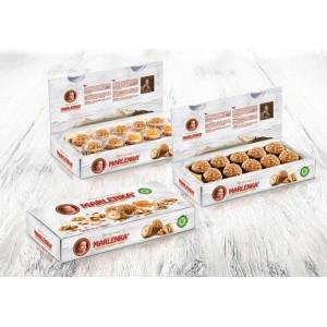 Marlenka – Honing nuggets met walnoot