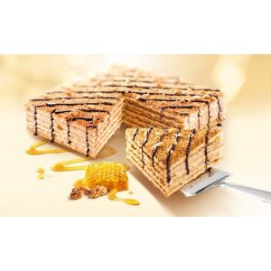 Honing Walnoten taart Marlenka.