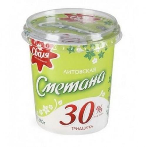 """Smetana """"Swalja"""" 30%. Cream fresh """"Svalja"""" 30%"""