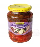 Geroosterde aubergine met knoflook