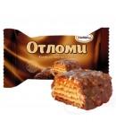 Otlomi met chocolade glazuur. Per 100g