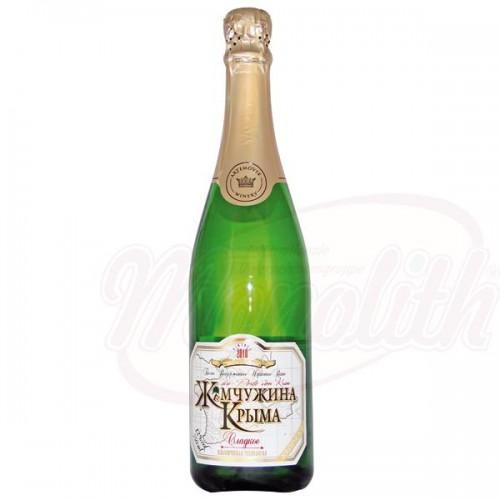 """Collectie mousserende wijn """"Pearl of Krim"""" zoet."""