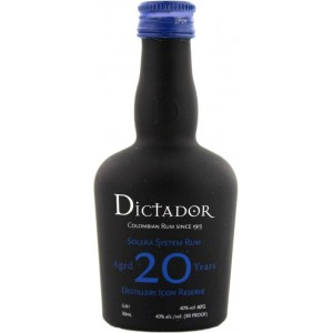 """""""Dictador"""" Aged 20 Years 0,7L"""