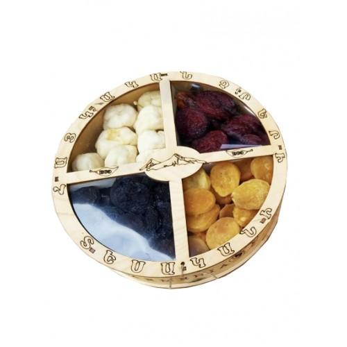 Gedroogde diverse fruit 4 assorti uit Armenie