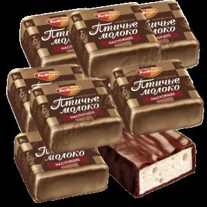 "Chocolade snoepjes  ""Ptichje Moloko"""