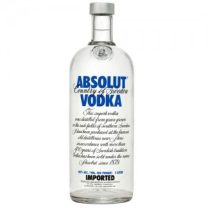 Absolut Blauw Vodka 40% Vol 0.7L