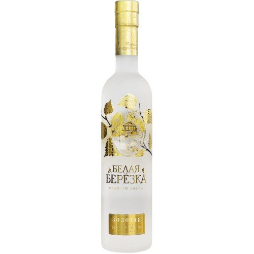 Belaya Berezka Gold Vodka 0.5L