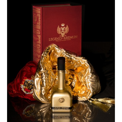 Legend of Kremlin Premium Vodka in Geschenkbox 0.7L
