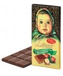 """Melkchocolade """"Alënka"""" met hazelnoot 100g."""