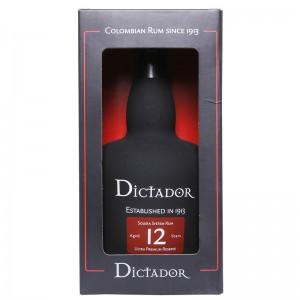 Dictador 12 years Rum 0,7L